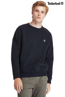 Timberland Brushed Back Crew Embroidered Sweatshirt