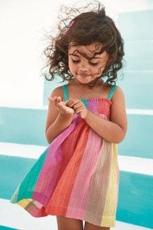 Naberané letné šaty (3 mes. – 7 rok.)