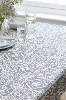Wipe Clean Table Cloth With Linen (240893) | $35 - $49