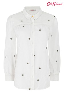 חולצה קלאסית חדשה של Cath Kidston בהדפס דבורה