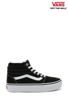 Vans Ward Womens High Platform Trainers