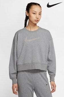 Nike Dri-FIT Get Fit Rundhalspullover mit Swoosh-Logo