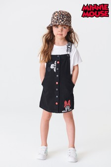 Mickey & Minnie Mouse™ Denim Pinafore (3-16yrs)