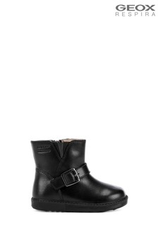 Geox Baby Girl's Hynde Black Boots