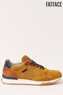 FatFace Leather Trainers