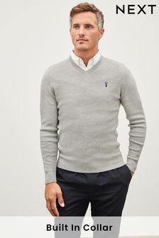 Mock Shirt Jumper (241521) | $50