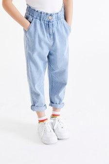 彈力腰身牛仔褲 (3-16歲)
