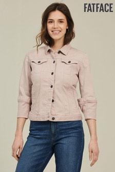 ז'קט ג'ינס של FatFace דגם Tasha בוורוד