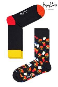 Happy Socks Hamburger Socks Two Pack