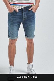 Выбеленные джинсовые шорты