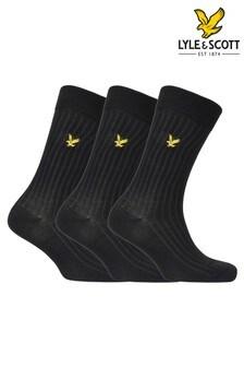 Lyle & Scott Premium Bamboo Socks Three Pack