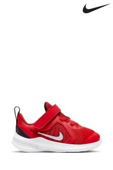 נעלי ספורט שלNikeRun לפעוטות דגםDownshifter10 בצבע אפור/כחול