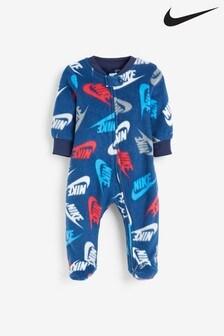 חליפת שינהשלNike לתינוקותדגםFuturaבכחולכהה