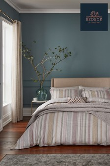 Bedeck of Belfast Nukku Stripe Cotton Duvet Cover