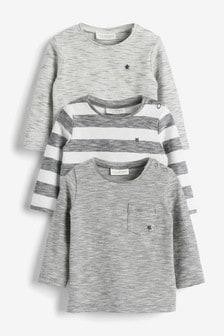 Набор из 3 стретчевых футболок (0 мес. - 3 лет)