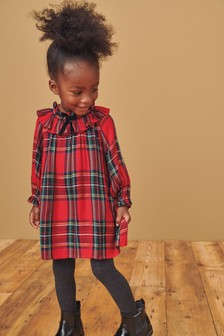 Cotton Check Dress (3mths-7yrs)