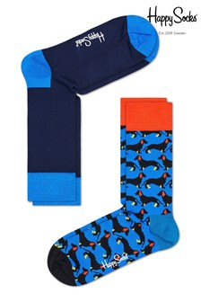 Happy Socks Dog Socks Two Pack