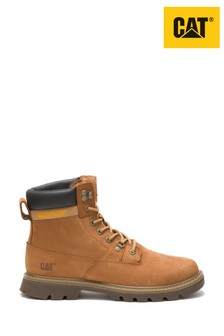CAT® Brown Ryman Waterproof Nubuck Rugged Boots