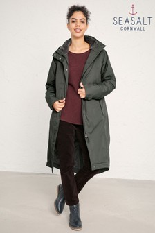 Seasalt Green Janelle Woodland Jacket