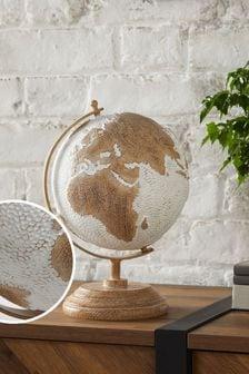 Brown Globe Ornament