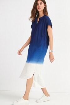 Dip Dye Overhead Dress