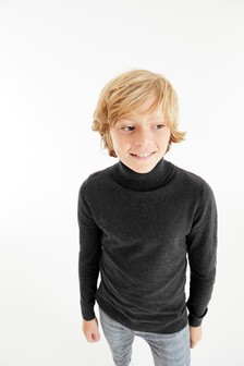 Джемпер-водолазка (3-16 лет)