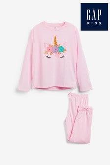 Gap Unicorn Graphic Pyjama Set