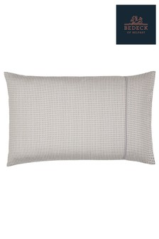 Bedeck of Belfast Nukku Jacquard Circles Cotton Housewife Pillowcase