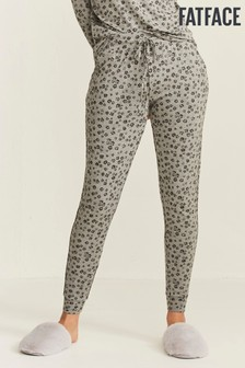 FatFace Grey Forres Printed Joggers