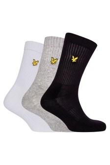 Lot de3 paires de chaussettes de sport Lyle & Scott