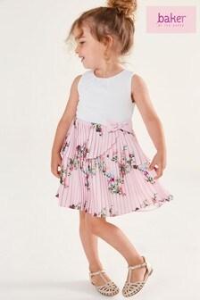 Baker by Ted Baker Girls Pleated Dress