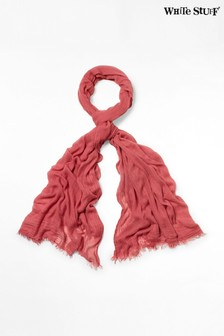 White Stuff Pink Dreaming Away Scarf