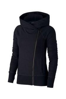 Nike Curve Yoga Yoga-Kapuzenjacke mit Reißverschluss