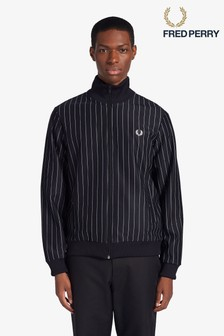 Fred Perry Pin Stripe Track Jacket