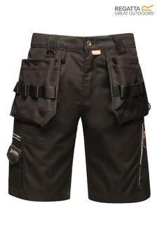 Regatta Black Execute Holster Shorts