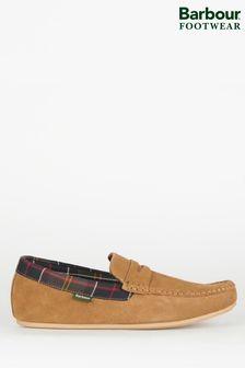 Barbour Porterfield 絨面革拖鞋