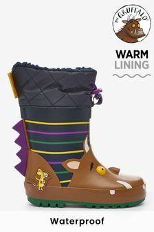 حذاء مطاطي بأساور The Gruffalo (الصغار)