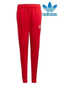 adidas Originals Red Superstar Joggers