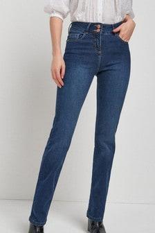 Zvýrazňujúce bootcut džínsy