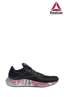 Reebok Run Black/Pink Flashfilm Trainers