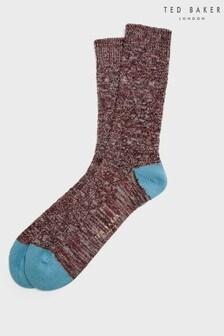 Ted Baker Swirlo Patterned Socks
