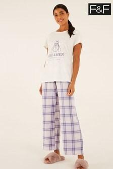 F&F Eeyore Check Pack Pyjamas
