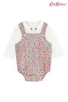 Cath Kidston® Cream Ashbourne Ditsy Baby Romper And T-Shirt Set