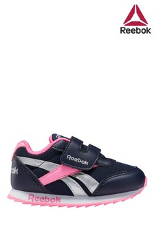 Reebok Black/Pink Trainers