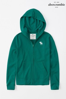Abercrombie & Fitch Green Hoody