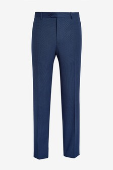 Ted Baker Regdebt Wool Birdseye Suit Trousers