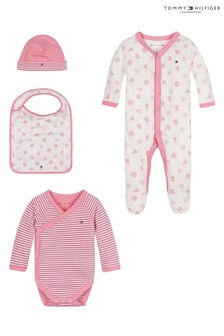 Tommy Hilfiger Pink Baby Preppy Gift Box