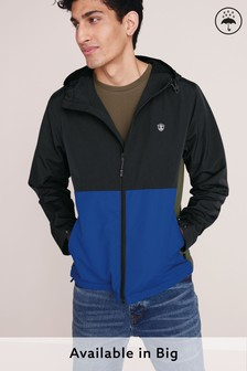 Shower Resistant Colourblock Jacket With Fleece Lining (246637) | $62
