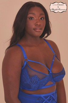 GabiFresh Lyla Strappy Cobalt Bra