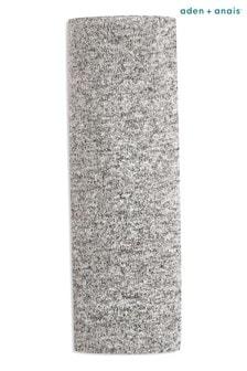 بطانية كبيرة منسوجة منaden + anais